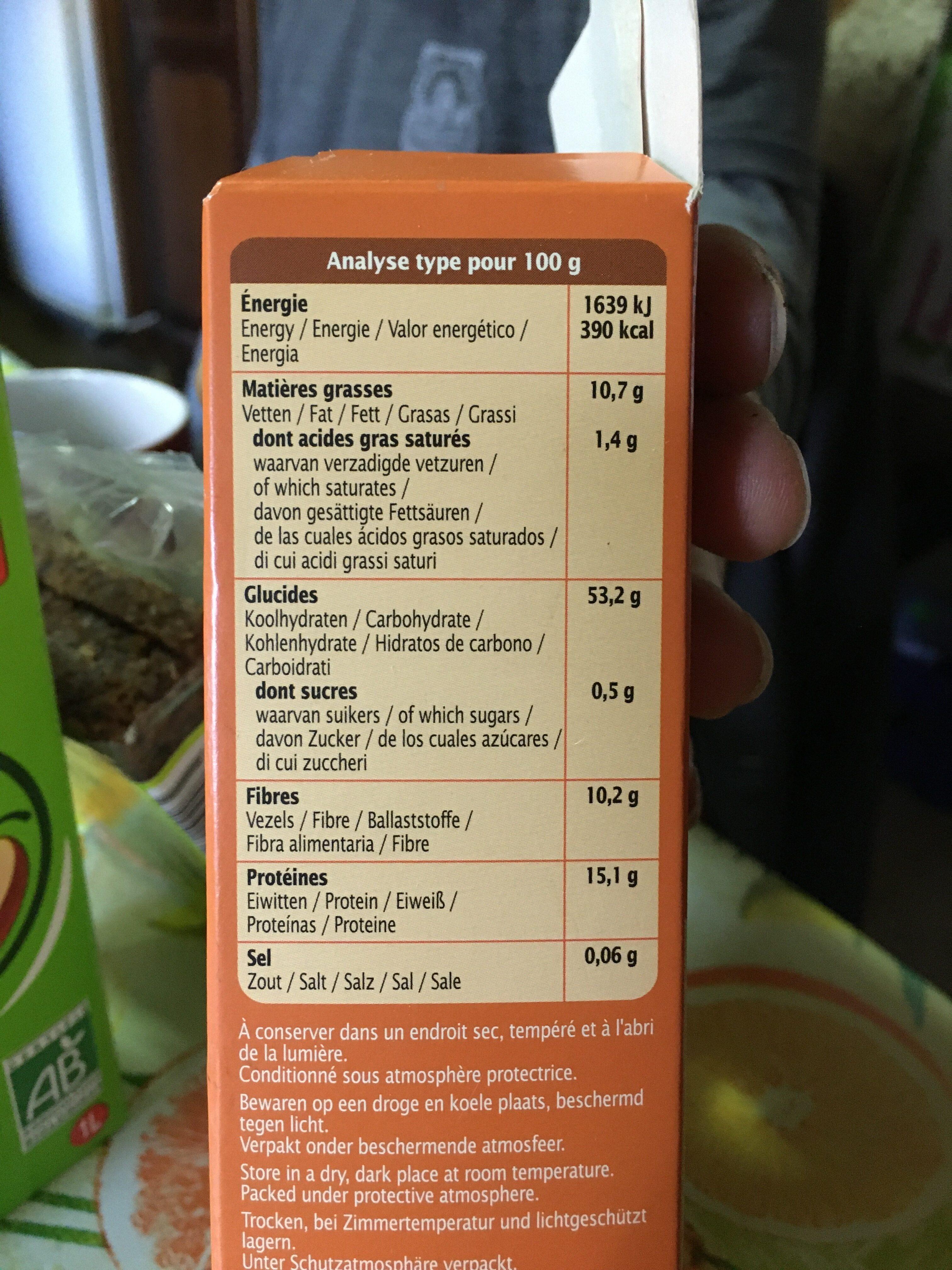 Mix'burger - Informations nutritionnelles - fr