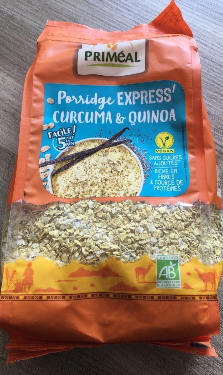 Porridge express curcuma et quinoa - Produit