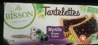Bisson Tartelettes myrtille - Product