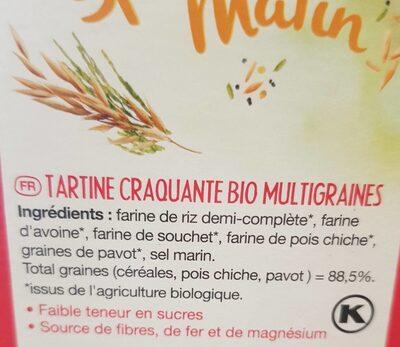 Le pain des fleurs special matin - Ingredientes