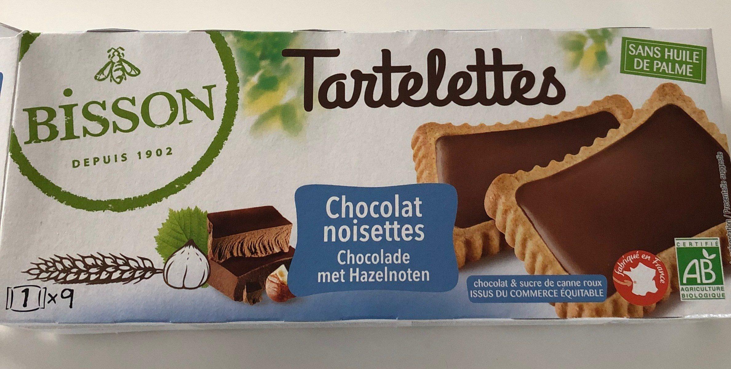Tartelettes chocolat noisettes - Product