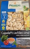 Cappelletti lentilles corail - Produit - fr