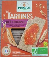 Tartines blé complet - Produit - fr