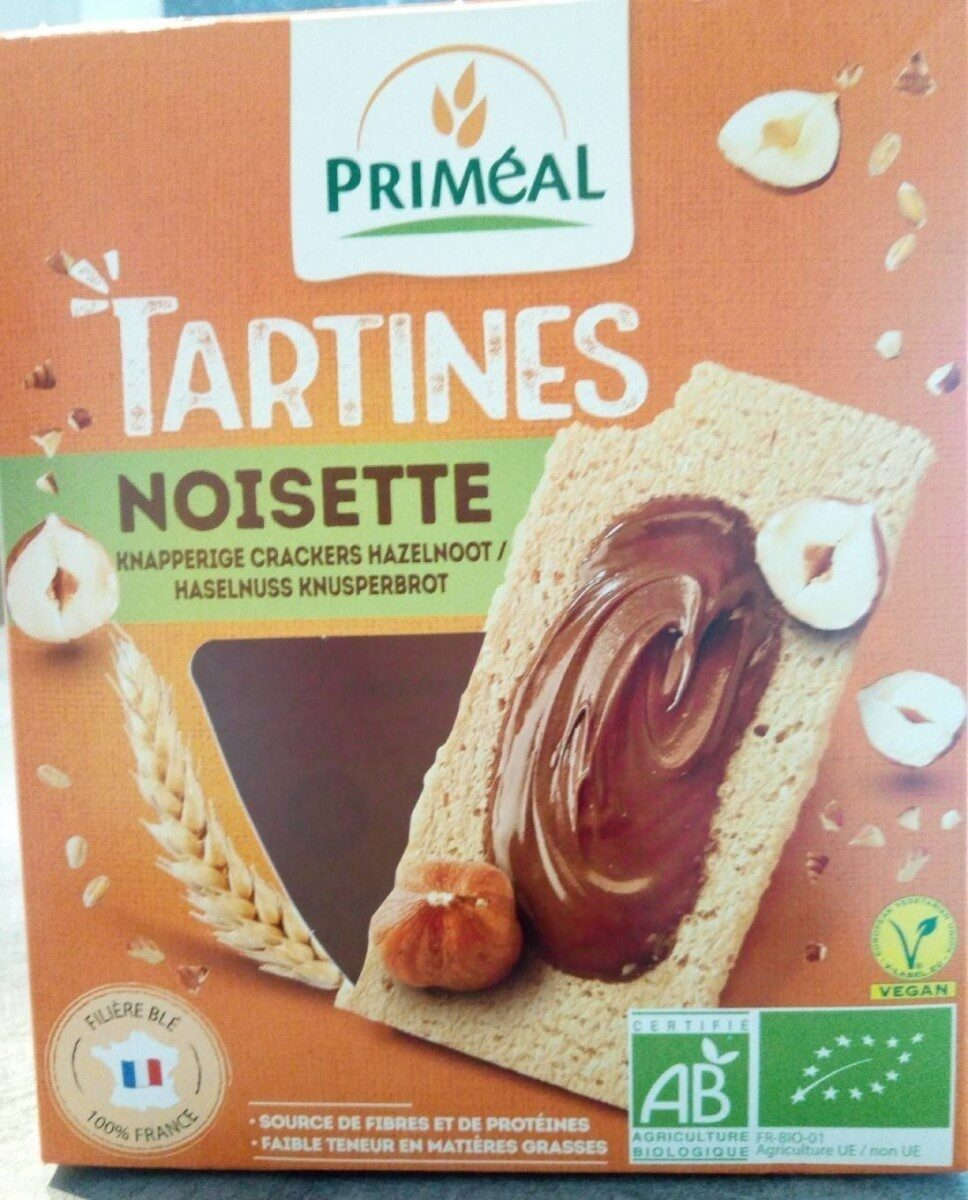 TARTINES NOISETTES - Product - fr