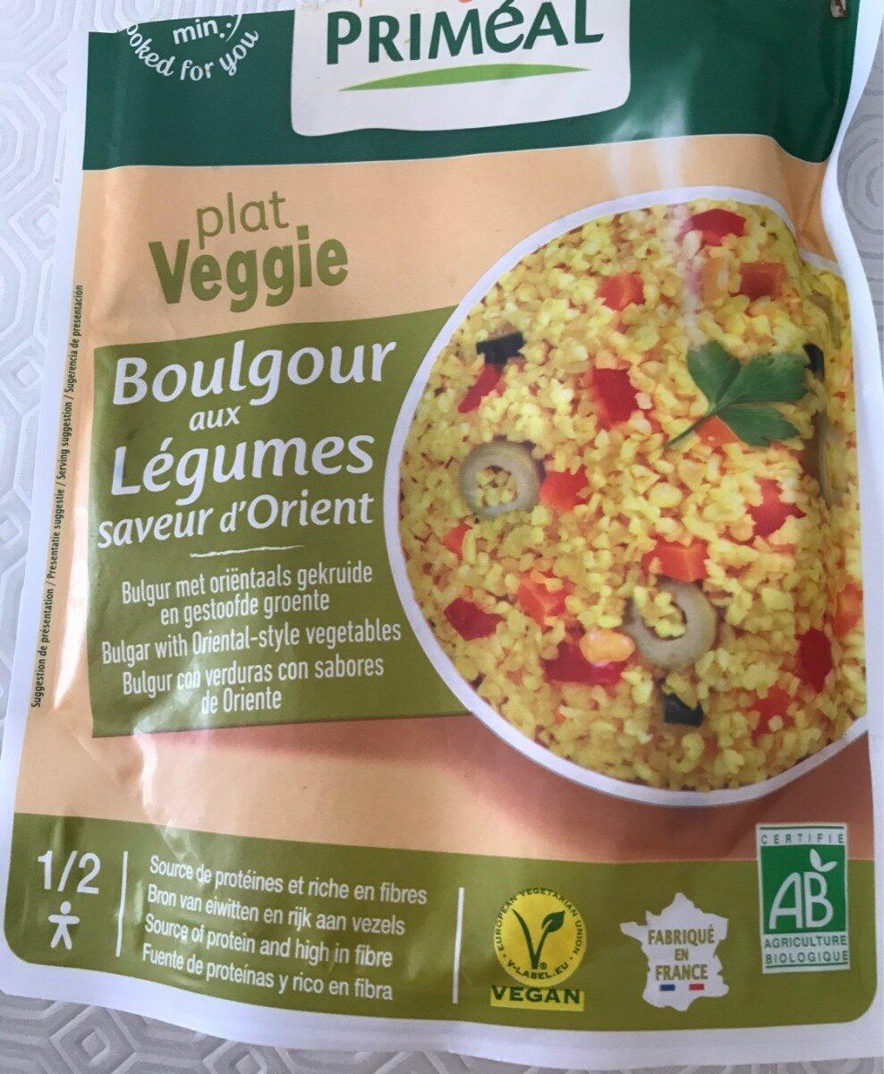Boulgour aux légumes saveur d'Orient - Produit