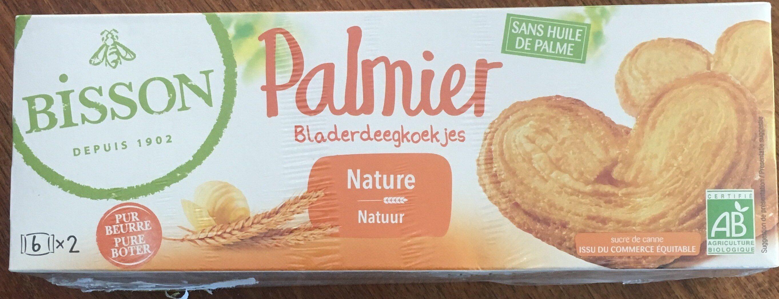 Palmier Pur beurre Nature - Product