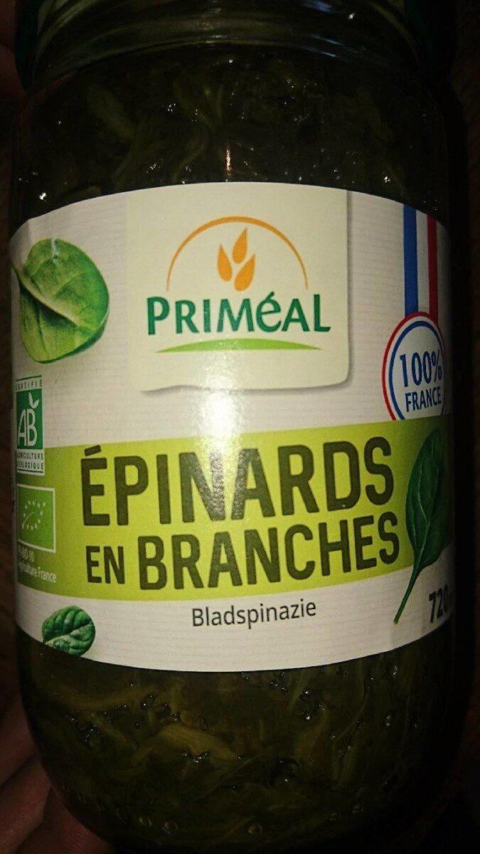 Epinards en branches - Produit - fr