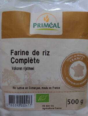 Farine de riz complète - Produit - fr