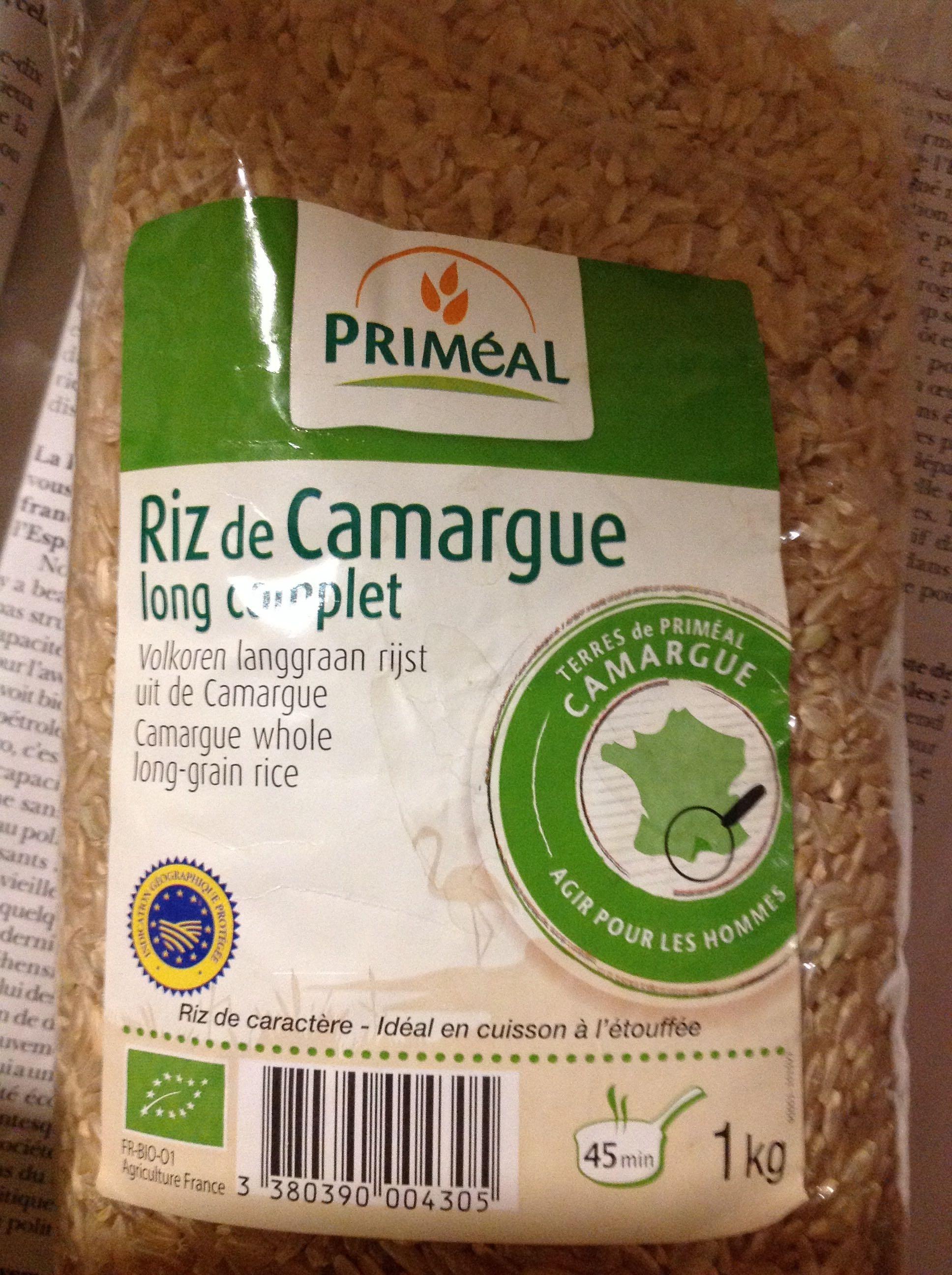 Riz de Camargue Long Complet - Produit