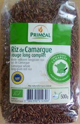 Riz de Camargue rouge long complet - Produit
