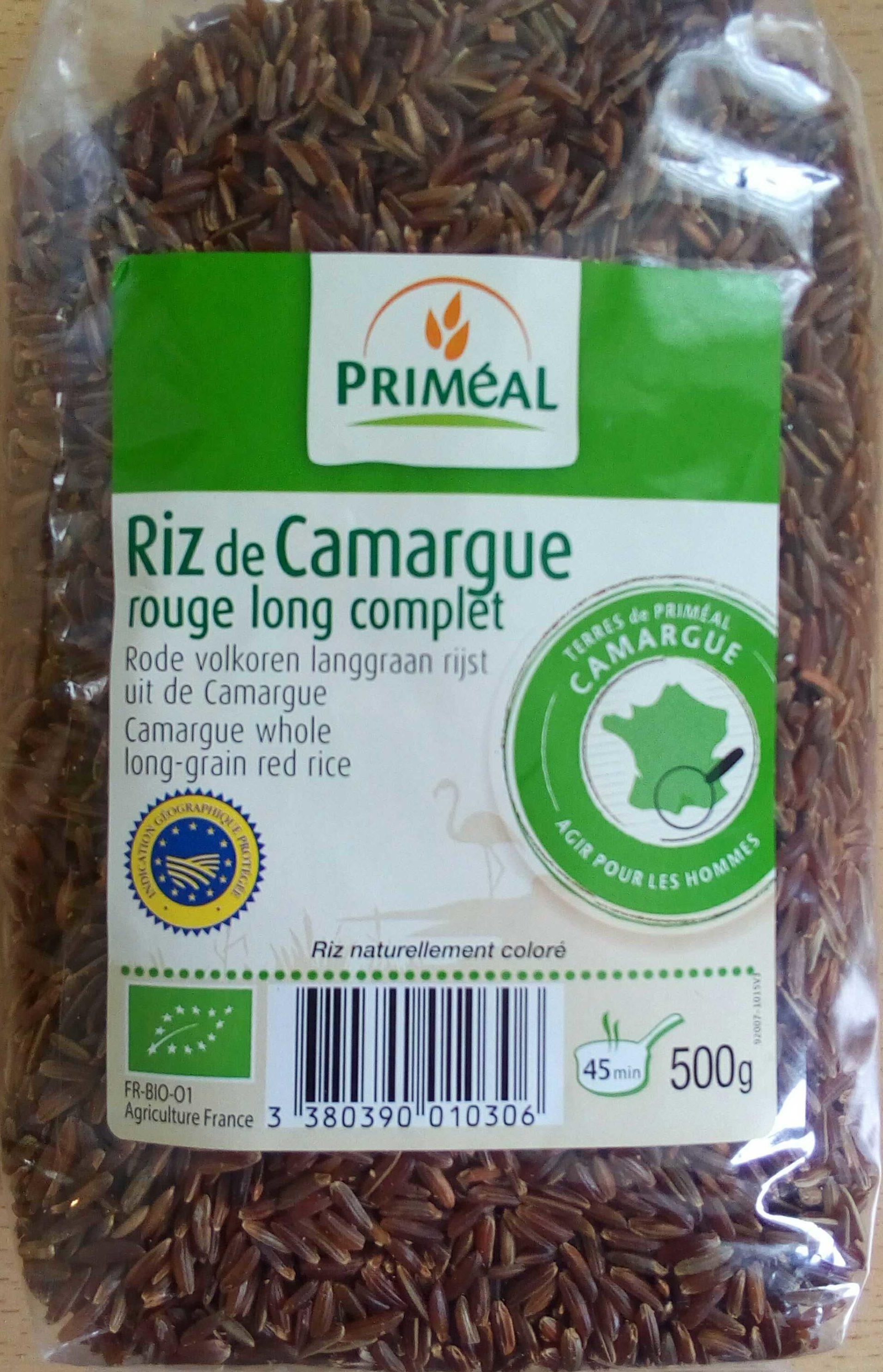 Riz de Camargue rouge long complet - Product - fr