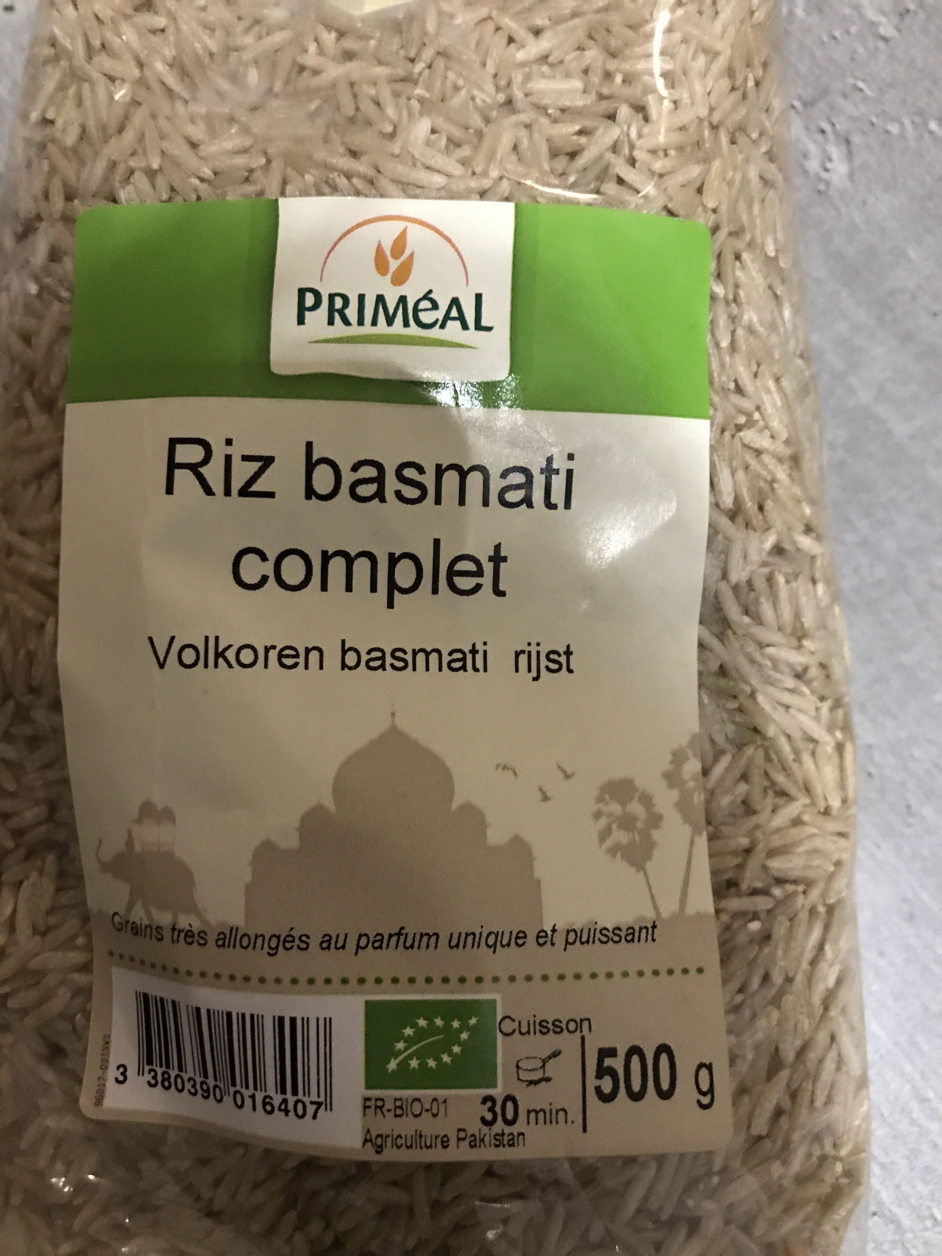 Riz Basmati Complet - Product - fr