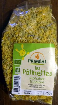 Les Pâtinettes, Alphabet Tricolore - Producto