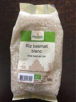 Riz basmati blanc - Product