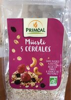 Muesli 5 céréales - Produit - fr