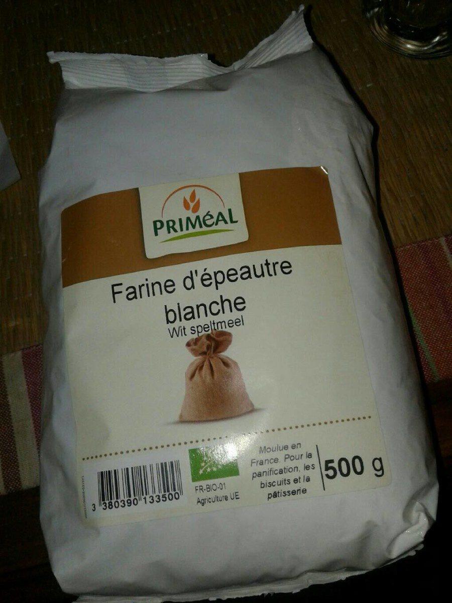 Farine d'epeautre blanche - Informations nutritionnelles - fr