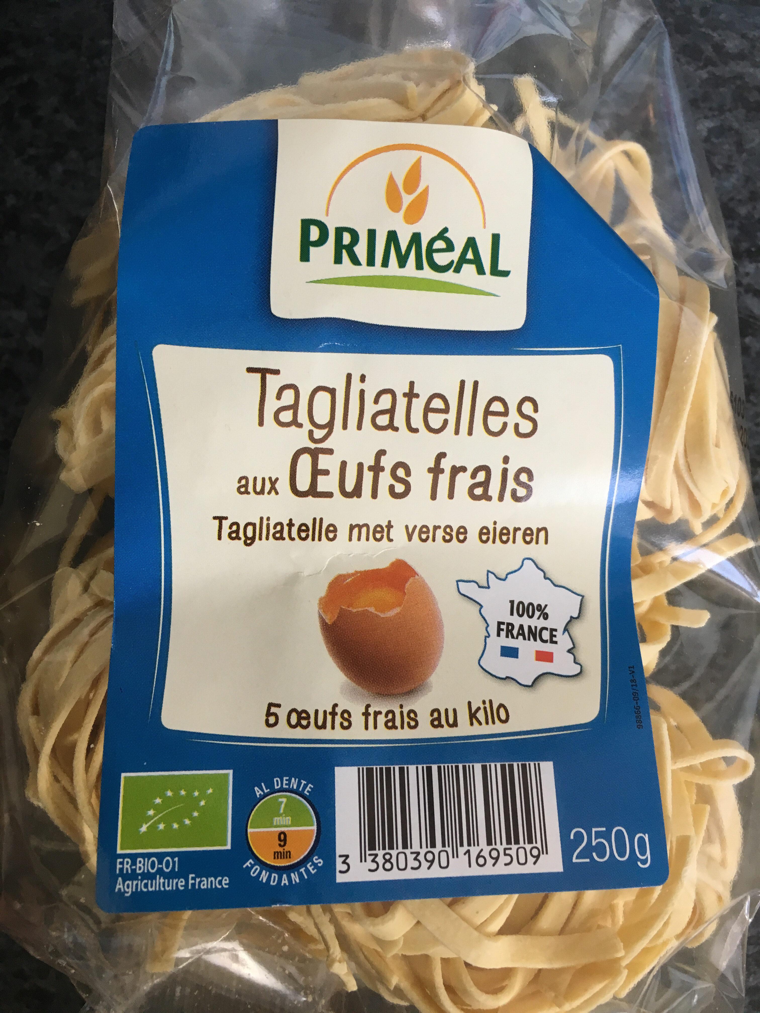 Tagliatelles Aux Oeufs Frais - Produit - fr
