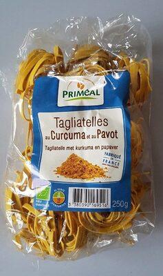 Tagliatelles au curcuma et au pavot - Produit - fr