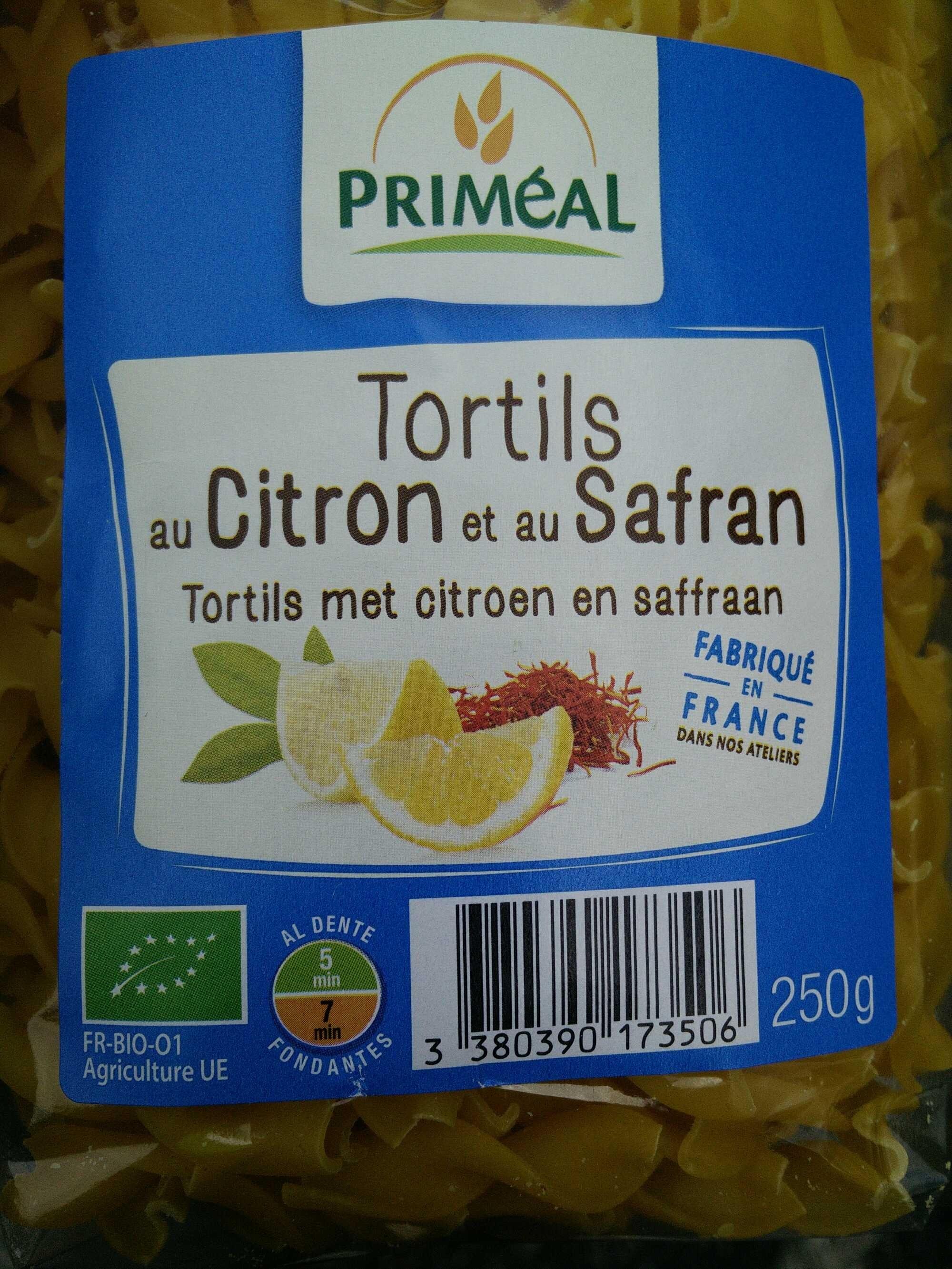 Tortils au citron et au safran - Produit