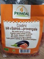 Codini blé & quinoa à la provençale - Produit - fr