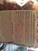 Codini blé & quinoa à la provençale - Ingrédients - fr