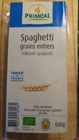 Spaghetti grains entiers - Product