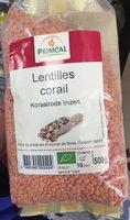 Lentilles Corail Bio - Produit - fr