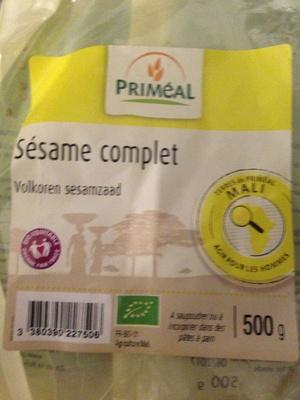 Graine de Sésame Complet - Product - fr