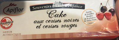 Cake aux Cerises Noires et Cerises Rouges - Product