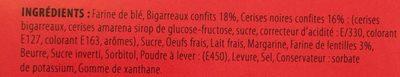 Cake aux Cerises Noires et Cerises Rouges - Ingredients