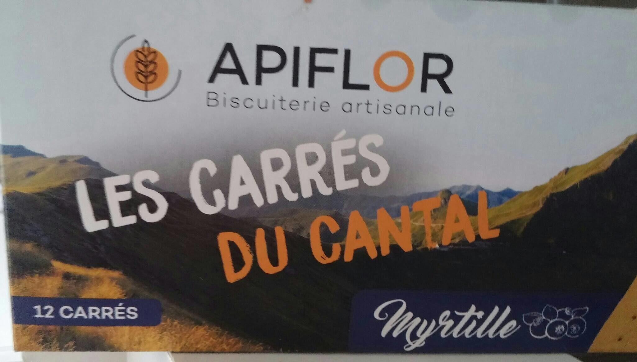 Les carrés du Cantal - Produit