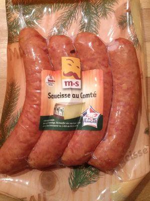 Saucisse paysanne au Comte MORTEAU SAUCISSE - Nutrition facts - fr