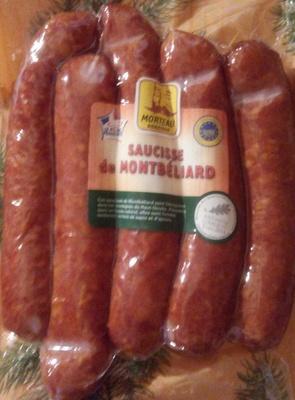 Saucisse de Montbéliard - Product