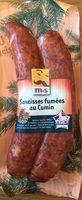 Saucisses fumées au cumin - Product - fr