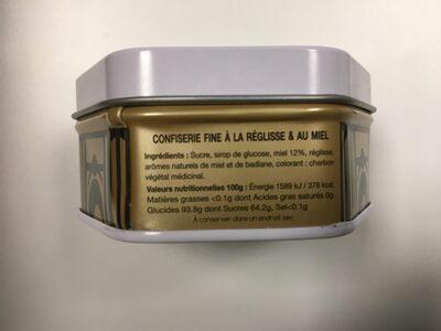 Les grisettes de Montpellier - Ingrédients - fr