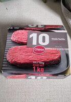 10 steaks hachés pur boeuf - Product - fr