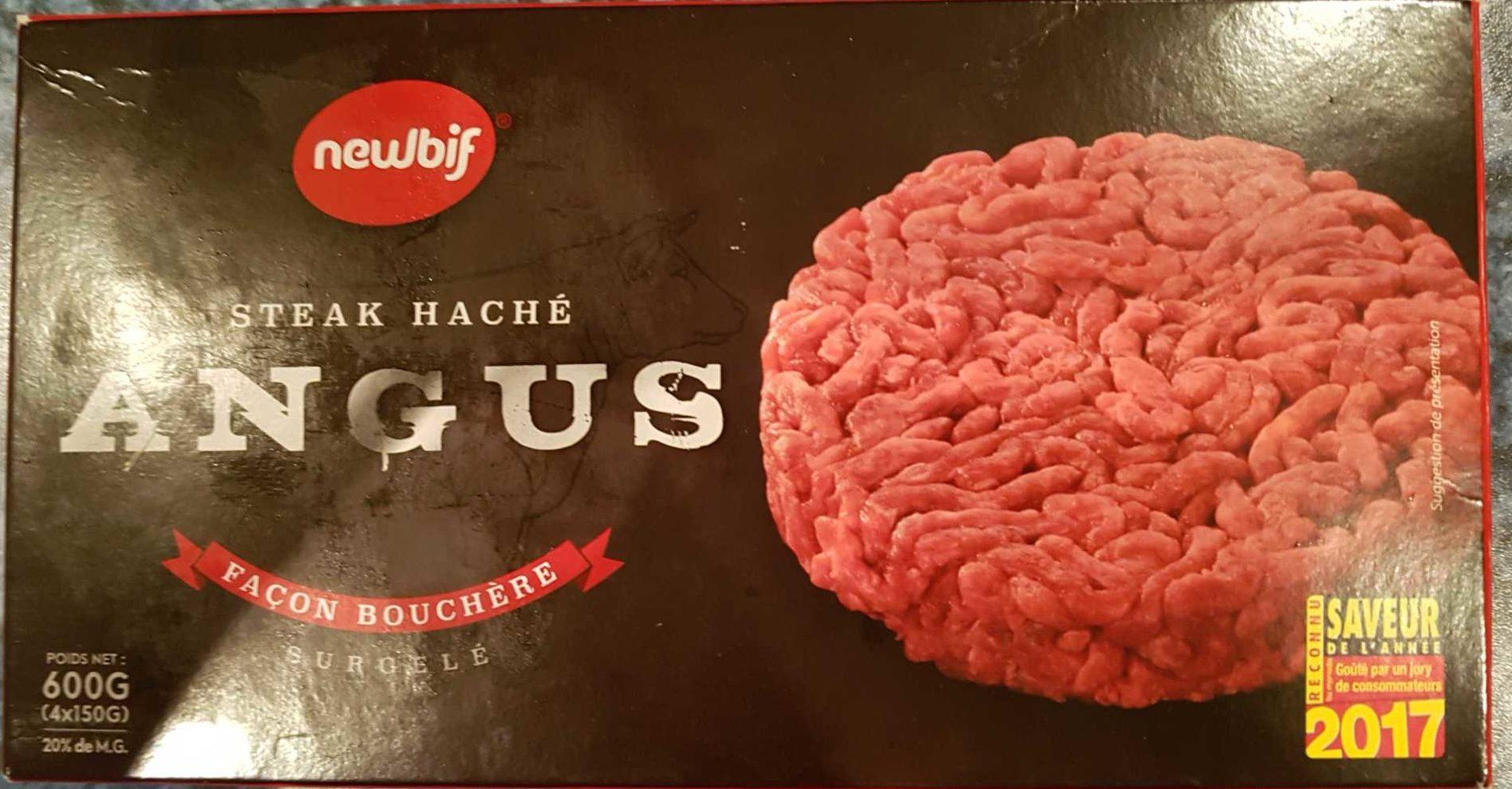 Steak haché Angus façon bouchère - Product