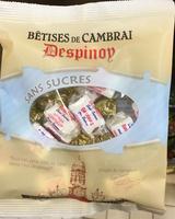 Bêtises de Cambrai sans sucres - Produit