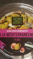 Olives vertes denoyautes à l'ail - Product - fr