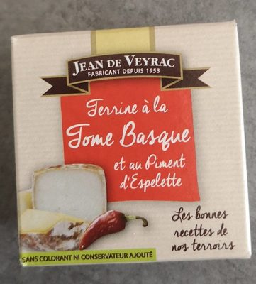 Terrine à la tome Basque - Product