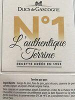 L'authentique terrine - Produit - fr