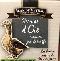 Terrine d'oie poire et jus de truffe - Produit
