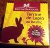 terrine de lapin au basilic - Product