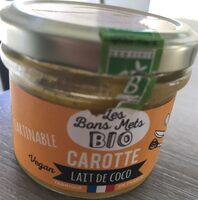 Tartinable Carotte lait de coco - Product - fr