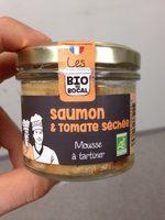 Mousse a tartiner Saumon et tomates séchée - Product