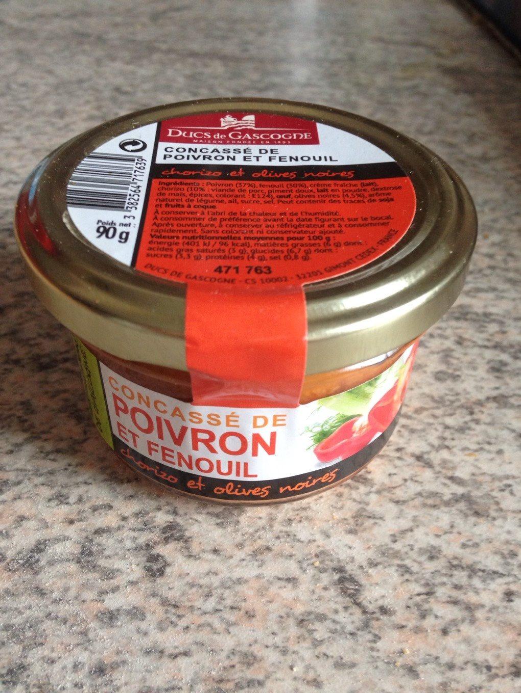 Concassé de poivron et fenouil - Product