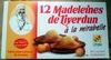 Madeleines de Liverdun à la mirabelle - Produit