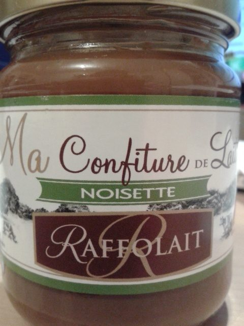 ma confiture de lait noisette raffolait 250g. Black Bedroom Furniture Sets. Home Design Ideas