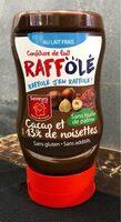 Confiture de lait chocalt noisette - Product