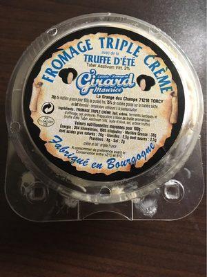 Fromage au Brillat Savarin et a la truffe d'ete - Produit - fr